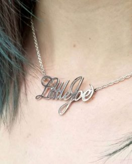 Collar de plata Little Joe