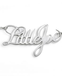 colgante de plata little joe