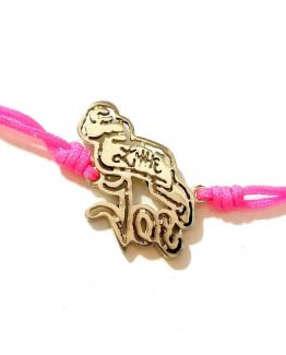 Pulsera fucsia Little Joe close-up