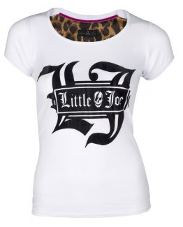 camiseta blanca little joe