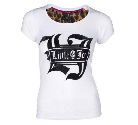 camiseta blanca little joe