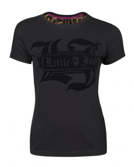 camiseta negra little joe