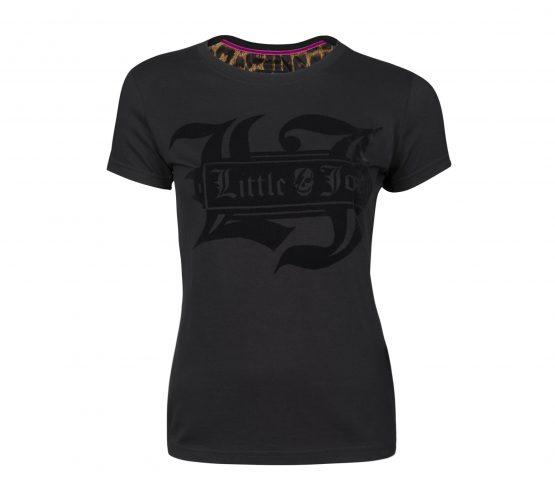 camiseta negra little joe