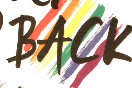 Camiseta del Orgullo Gay con bandera