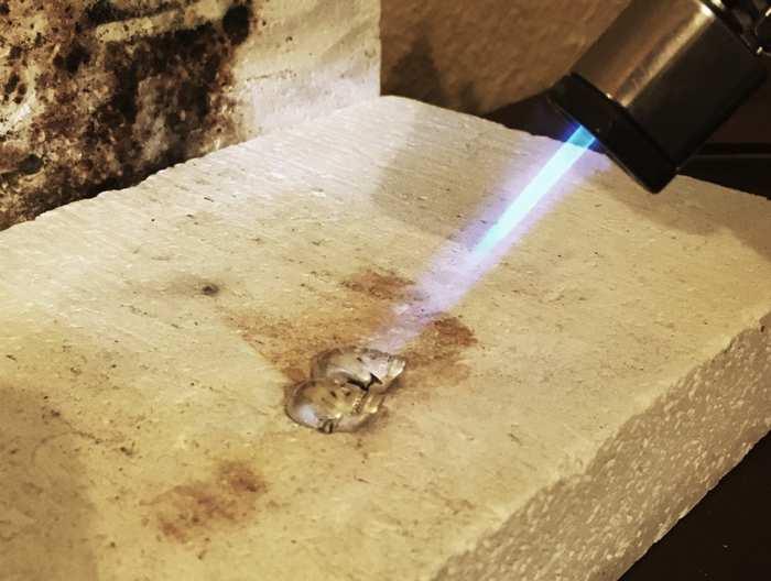como se hacen las joyas de plata